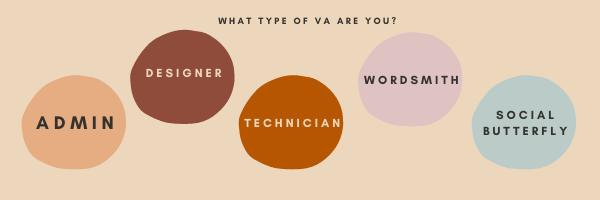 the five types of virtual assistants
